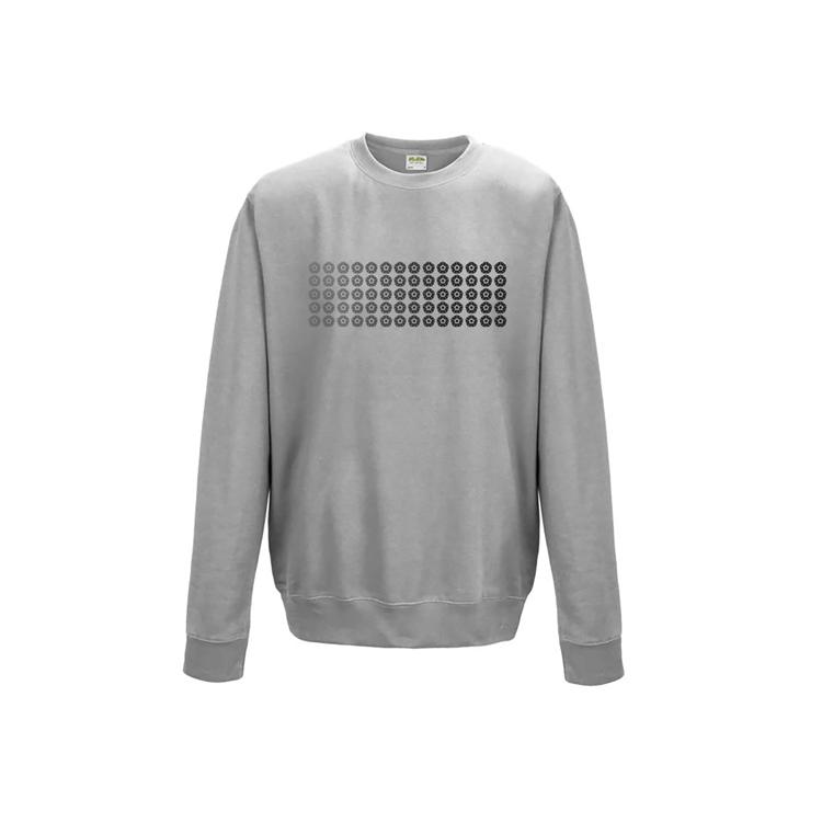 Grey Gradient Sweatshirt