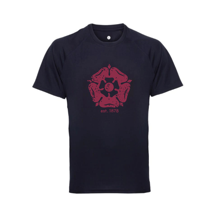 Navy Rose Training T-Shirt