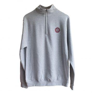 Grey Half-Zip Sweater