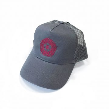 Rose Mesh Trucker Cap