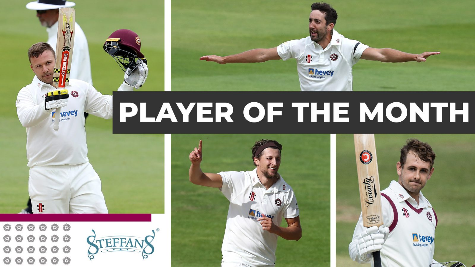 Steffans Jewellers Player Of The Month: August