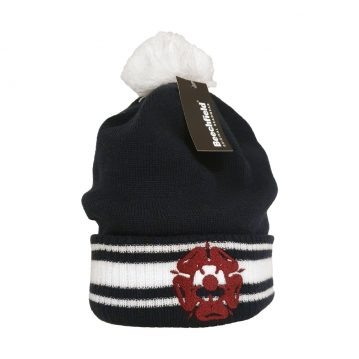 Rose Stripe Bobble Hat