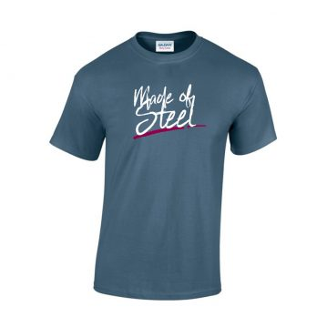 Made Of Steel Cotton T-Shirt