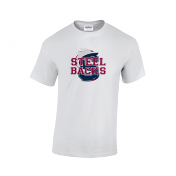 White Steelbacks T-shirt